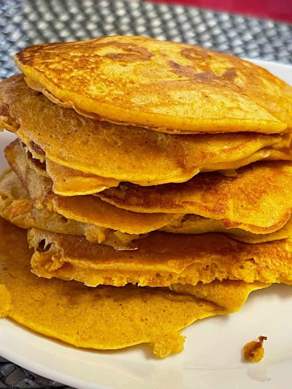 Pancake-super-leggeri-alla-zucca